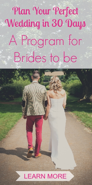 Wedding Planning Program for Brides to be