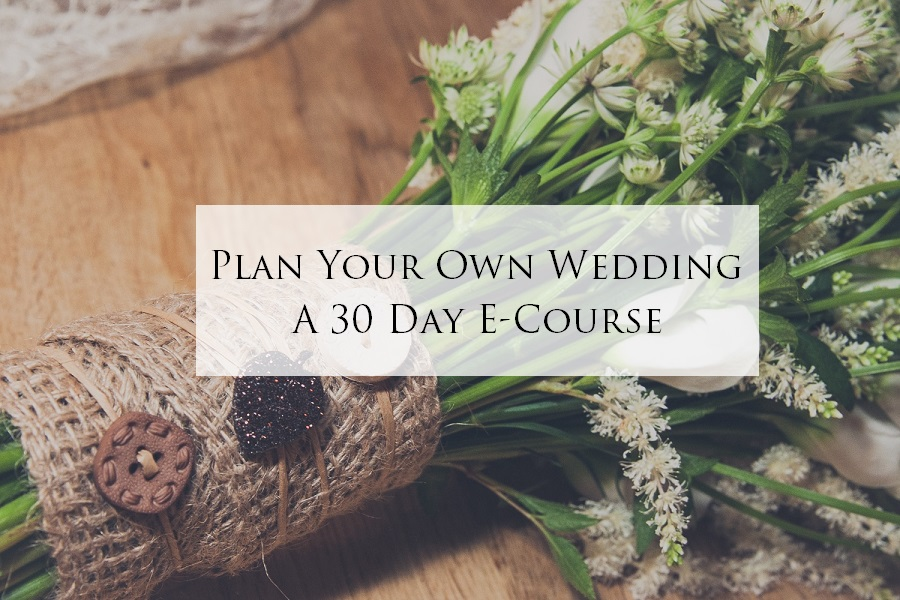 30 Day Wedding Planning Course Logo