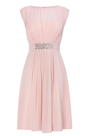 Amelia Pink Bridesmaid Dress