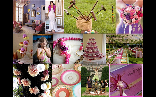 Purple Wedding Mood Board