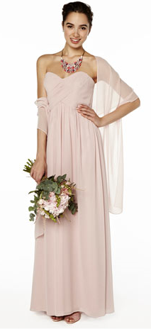 Pink Stole BHS - perfect wedding coverup