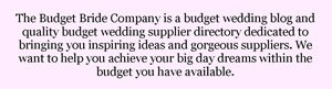 About The Budget Bride Company