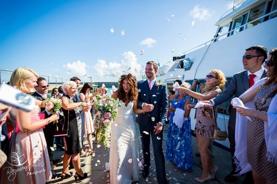 A Nautical themed wedding in France: Hannah and RoRo