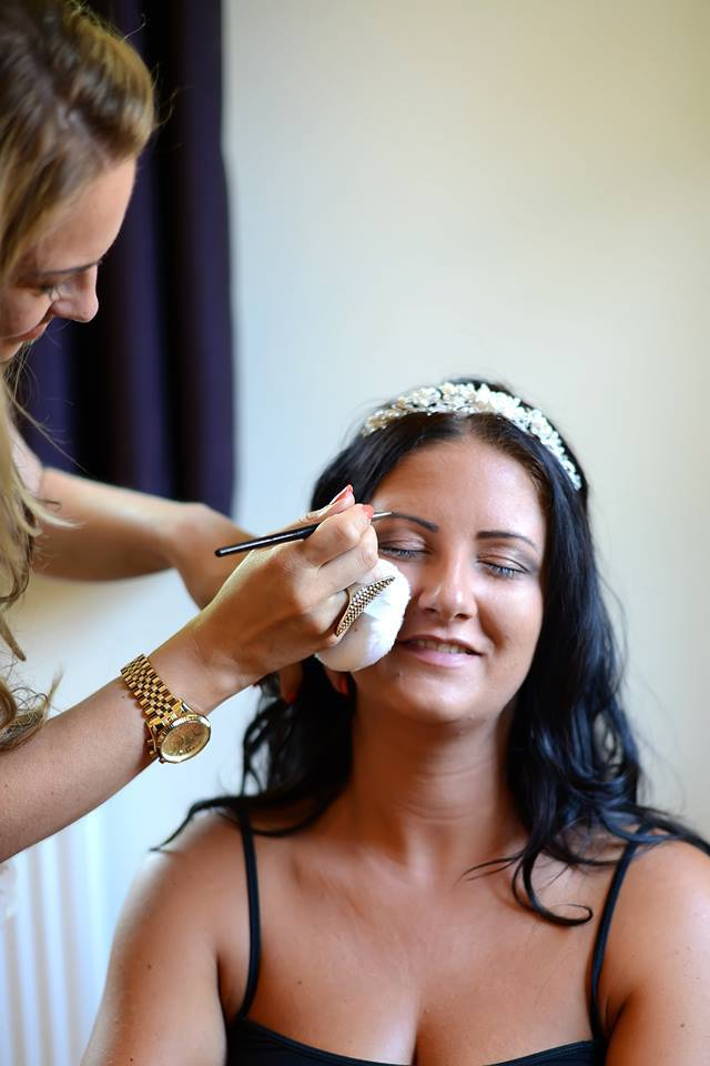 Northamptonshire Wedding Make-up Artist Samantha Kibbler