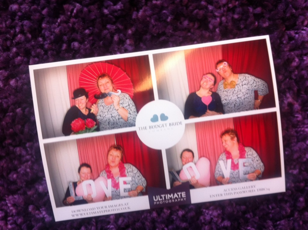 Budget Bride Company in the Ultimate Photography Photo Booth