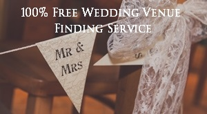 100% Free Wedding Venue Finding Service