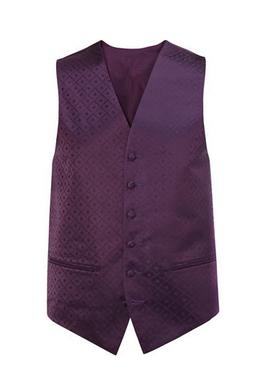 BHS Waistocoat Purple