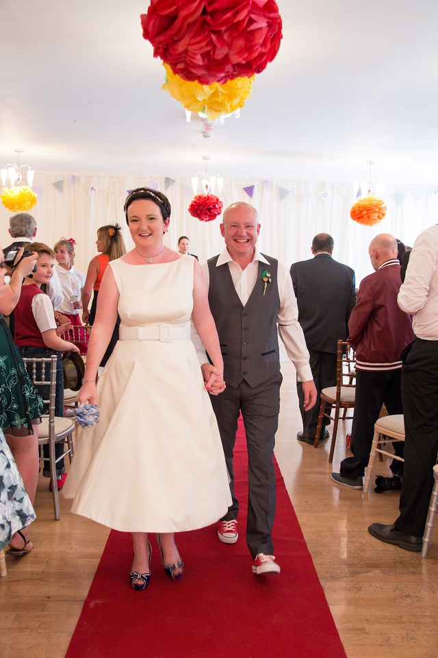 Real Life Fifties Themed Budget Wedding