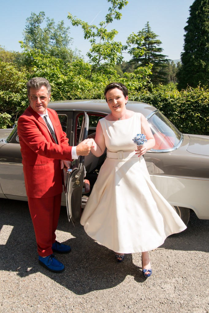 Real Life Fifties Budget Wedding