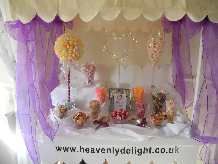 Heavenly Delight Candy Cart