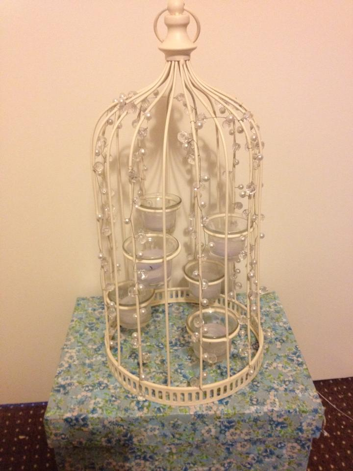 Bird Cage Centre Pieces - Wedding Table Decoration