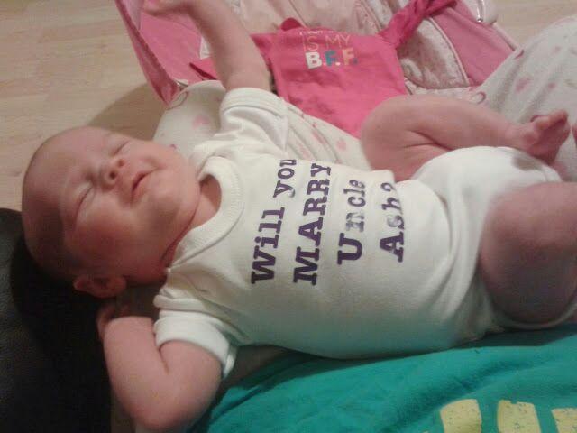 Aorable baby grow proposal!