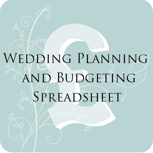 Wedding Planning and Budgeting Spreadsheet for Brides