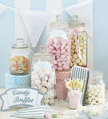 DIY Candy Buffet for your Wedding