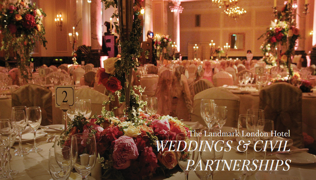 Weddings at The Landmark London