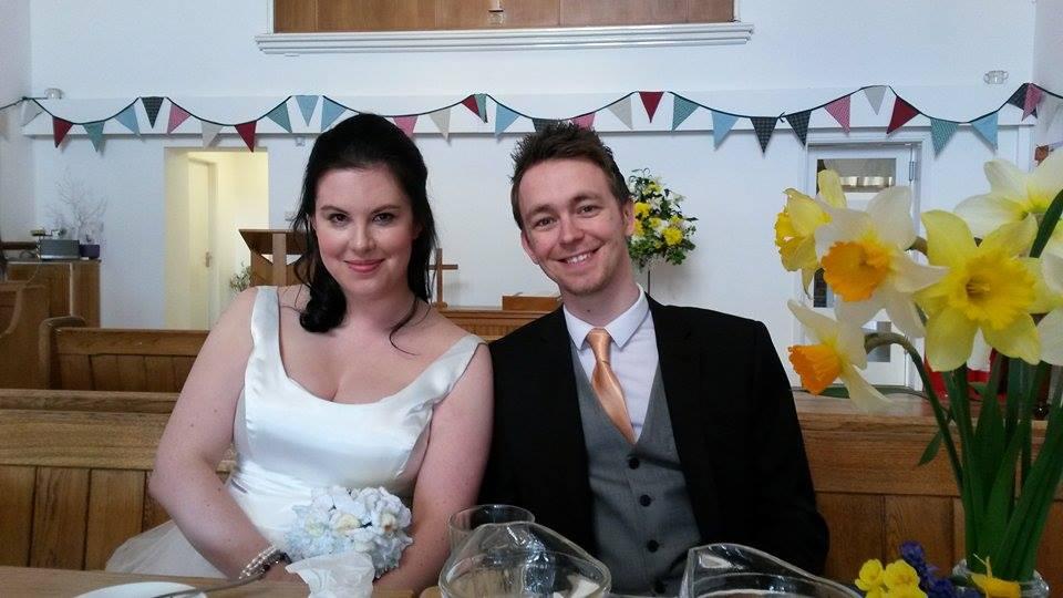 Real life budget wedding
