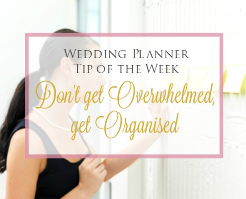 Wedding Planner Tip