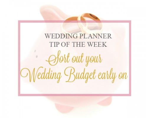 Sort out your Wedding Budget